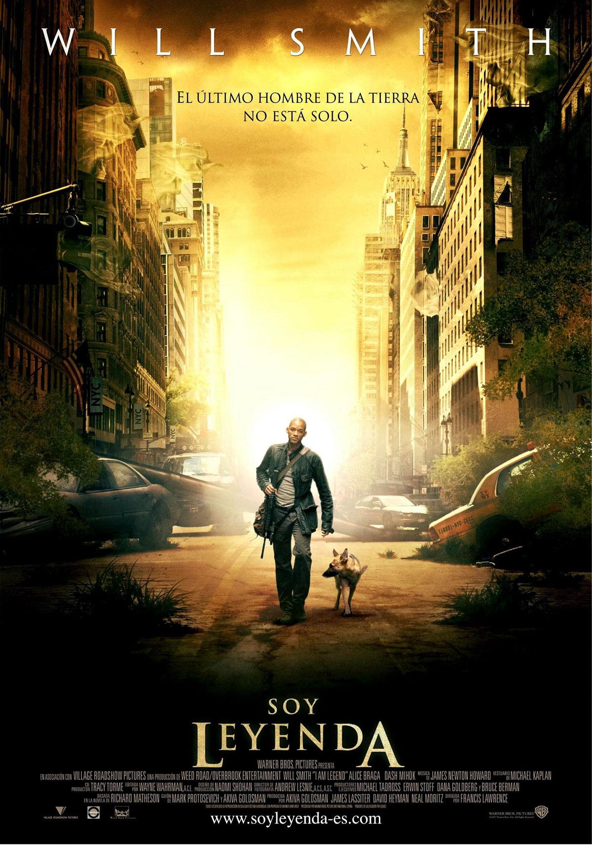 Cartel de la película Soy leyenda