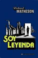Portada de la novela Soy leyenda, de Richard Matheson