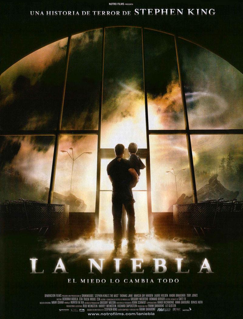 Cartel de la película La niebla, de Frank Darabont