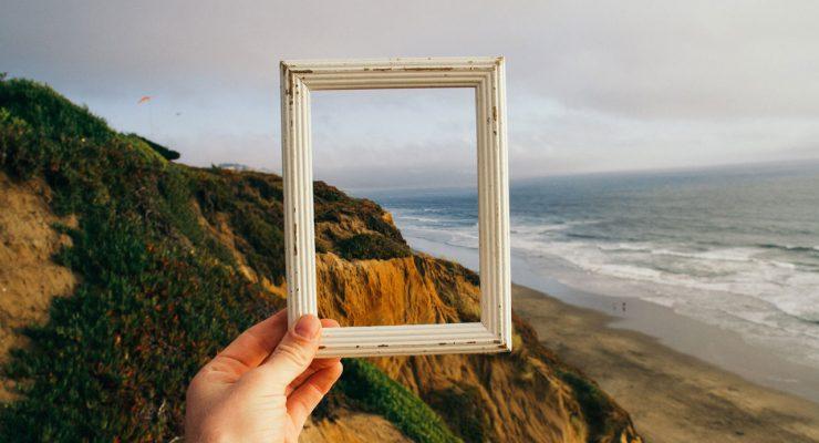 Cuadro y paisaje