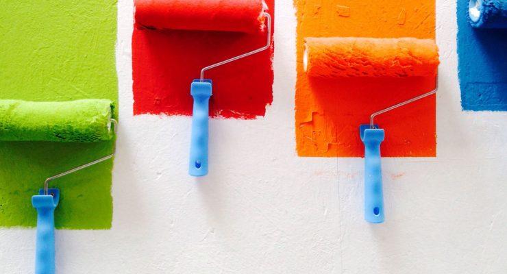 Rodillos de pintura