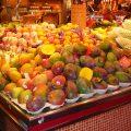 Frutas en el Mercado de la Boqueria 2, Barcelona