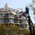 Casa Milà, de Antonio Gaudí, en el Paseo de Gràcia, Barcelona