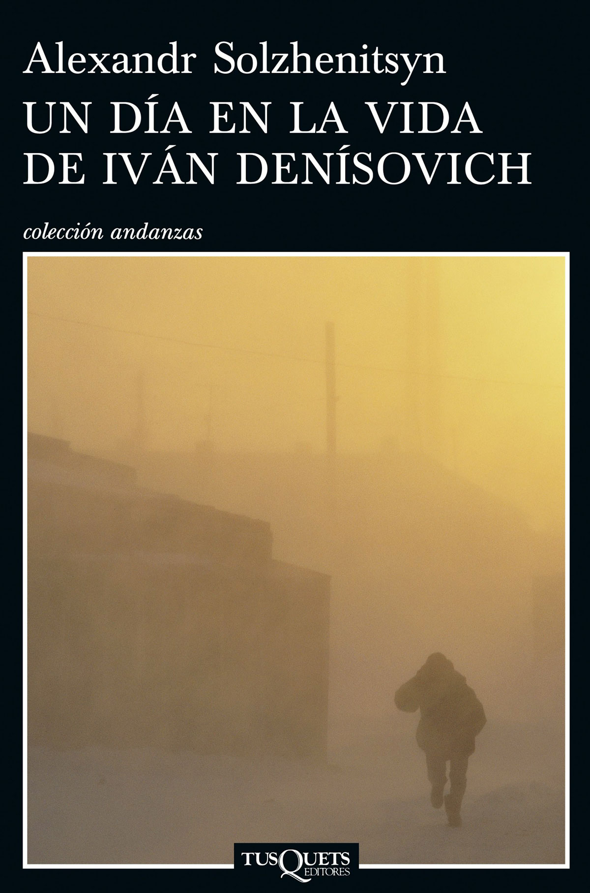 Portada de la novela Un día en la vida de Iván Denísovich, de Aleksandr Solzhenitsyn