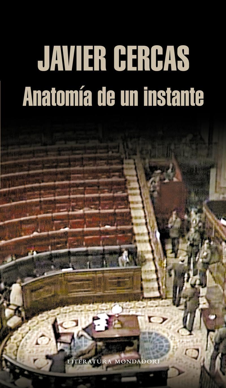 Portada de la novela Anatomía de un instante, de Javier Cercas