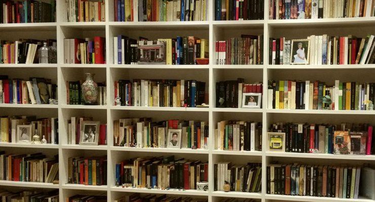 Aquí está mi biblioteca