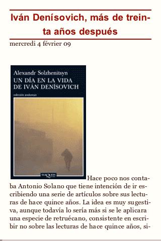 Figura 5 – Libro digital en el lector Stanza para iPod Touch, 1