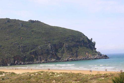 Vista de la playa de Berria, 2