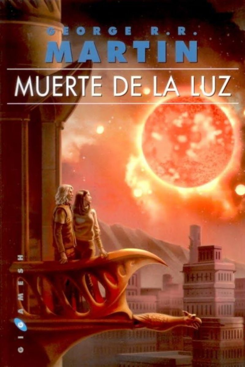 Portada de la novela Muerte de la luz, de George R.R. Martin