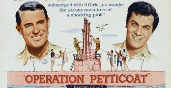 Cartel de la película Operación Pacífico (Operation Petticoat)
