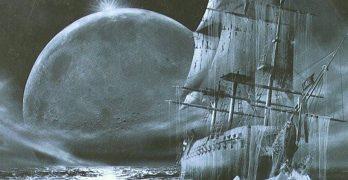 Portada de Los mares grises sueñan con mi muerte. Cuentos completos de terror en el mar, de W.H. Hodgson