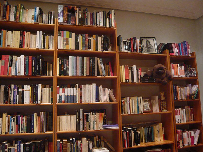 La biblioteca, ya ordenada