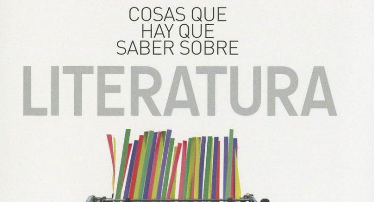 Portada del libro 50 cosas que hay que saber sobre literatura, de John Sutherland