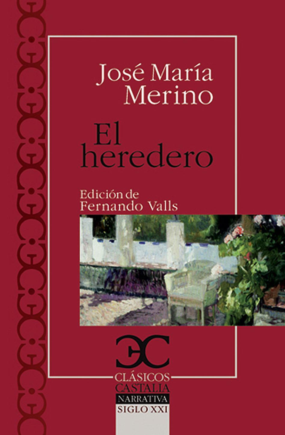 Portada de El heredero, de José María Merino