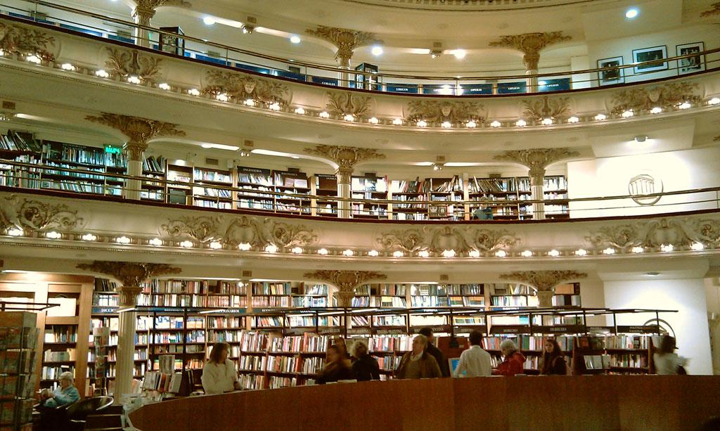 Librería Ateneo Grand Splendid en Buenos Aires