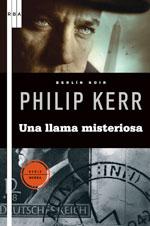 Portada de Una llama misteriosa, de Philip Kerr
