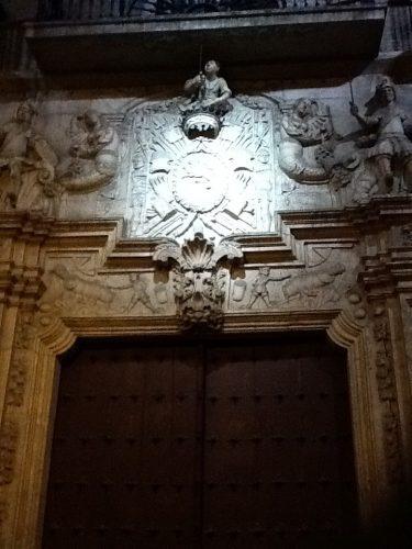 Portada del Palacio de Ezpeleta