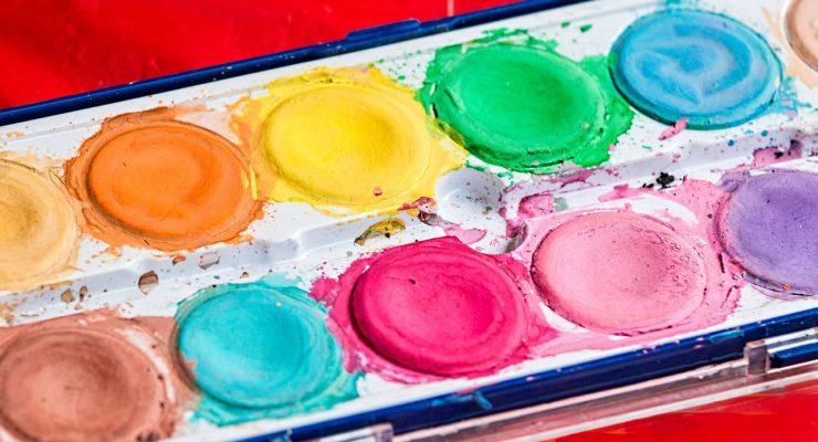 Caja de pinturas