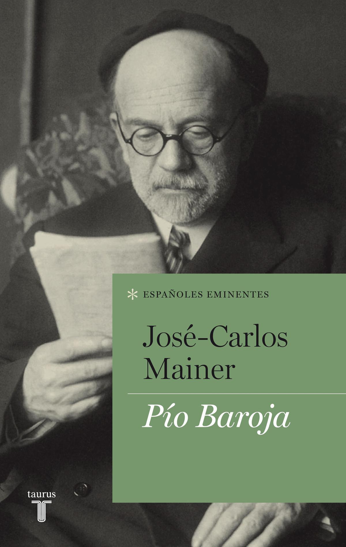 Portada de Pío Baroja, de José-Carlos Mainer