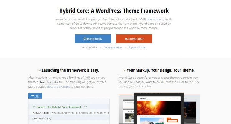 El framework Hybrid