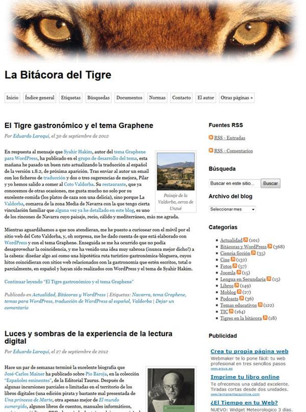 La Bitácora del Tigre