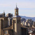 Pamplona a vista de pájaro
