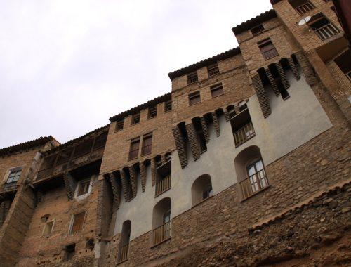 Las casas colgadas, en la judería de Tarazona