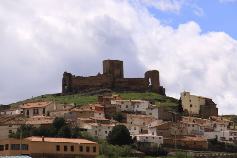 Pueblo y castillo de Trasmoz