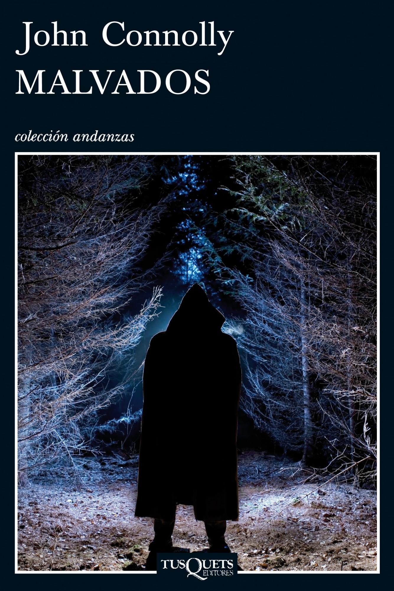 Portada de la novela Malvados, de John Connolly