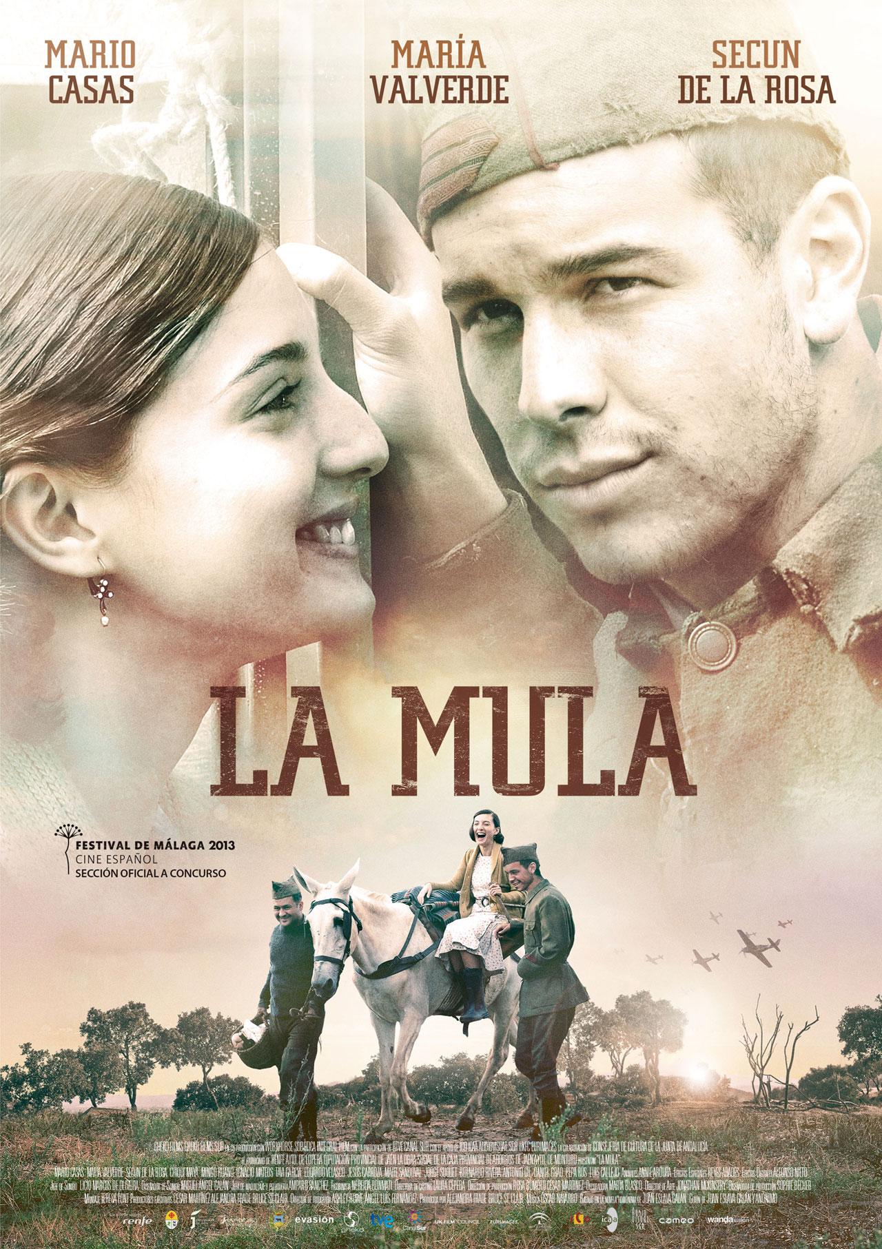 Cartel de la película <em>La mula</em>, de Michael Radford