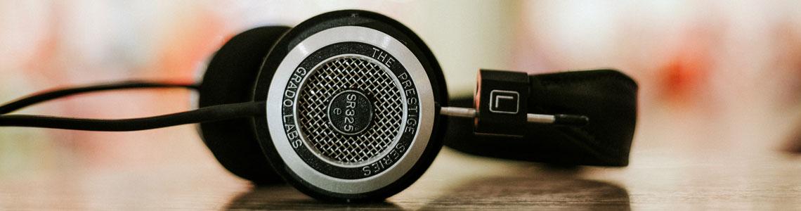 Cabecera para la categoría Podcasts
