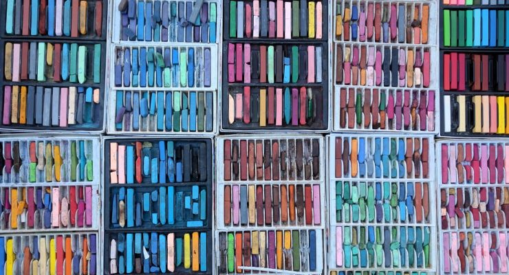 Cajas de pinturas