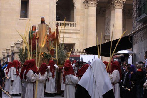 Paso 1, Entrada en Jerusalén