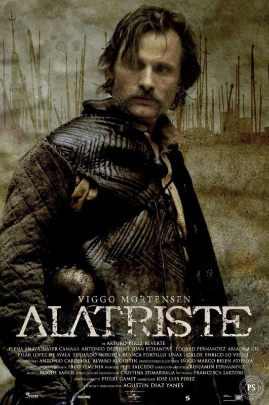 Cartel de la película Alatriste
