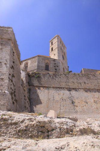 Murallas y Catedral de Ibiza