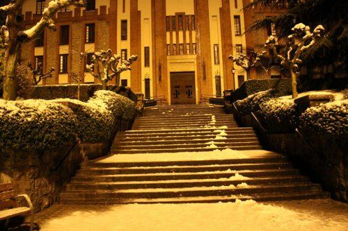 Escaleras de la Iglesia de los Paúles