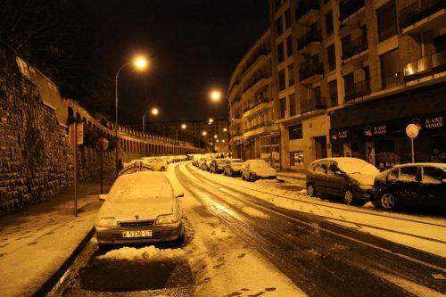 La calle Julián Gayarre