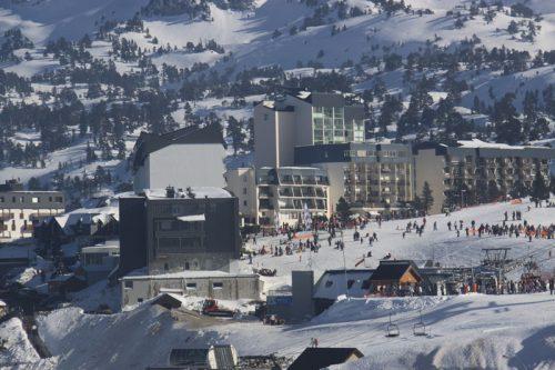 La estación de esquí de Arette 2