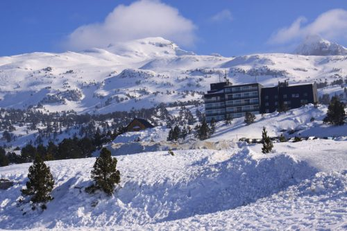La estación de esquí de Arette 3