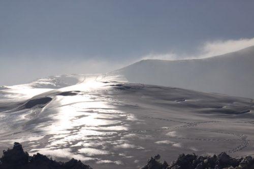Vista desde la estación de esquí de Arette 1