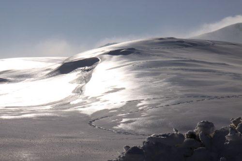 Vista desde la estación de esquí de Arette 2