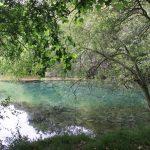 Represa y estanque sobre el río Ubagua, cerca de Riezu 1