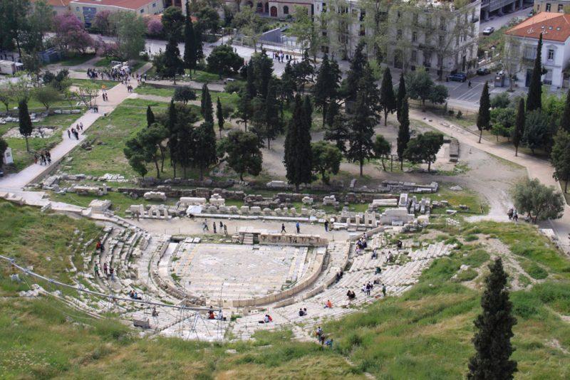 Teatro de Dioniso, Acrópolis de Atenas