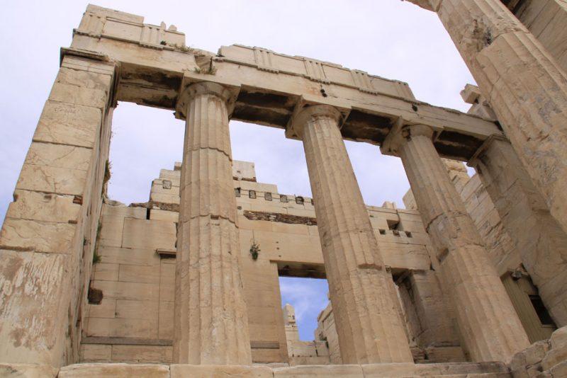 Propileos, Acrópolis de Atenas