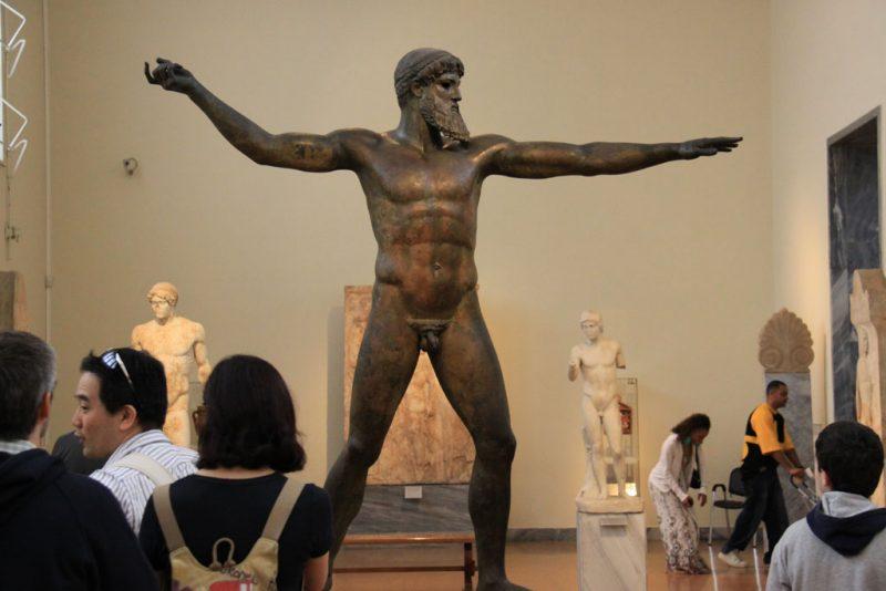 Estatua de Poseidón 1, Museo Arqueológico Nacional, Atenas