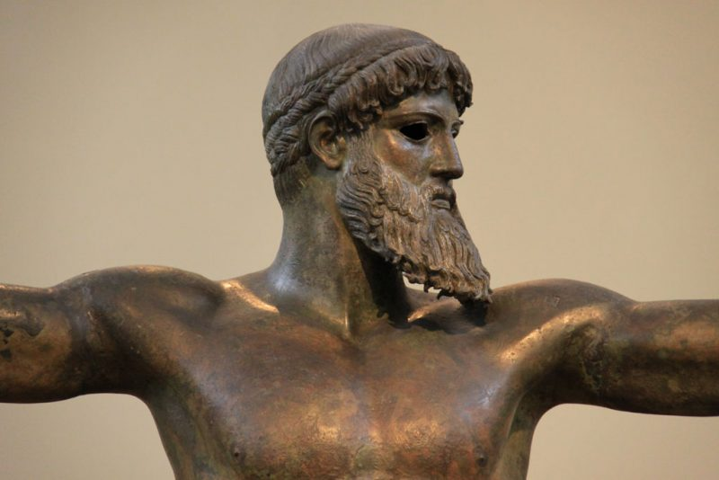 Estatua de Poseidón 2, Museo Arqueológico Nacional, Atenas
