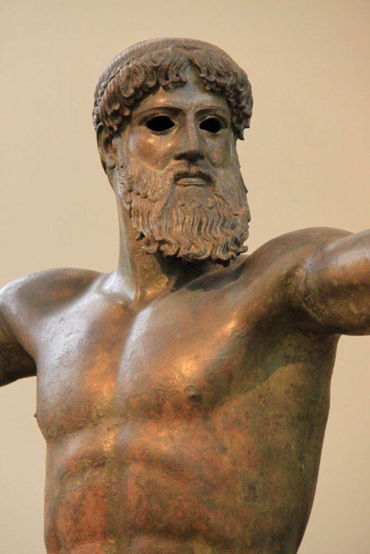 Estatua de Poseidón 3, Museo Arqueológico Nacional, Atenas