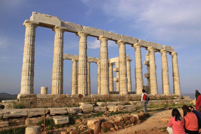 Templo de Poseidón, en el cabo Sounion 2
