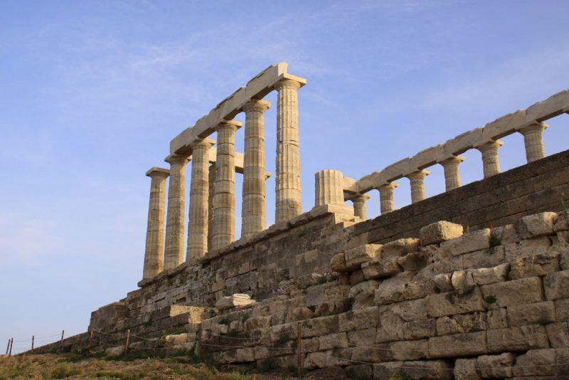 Templo de Poseidón, en el cabo Sounion 3