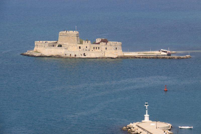 Islote fortificado de Burtsi, en Nauplio